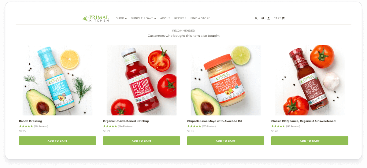 Products for Primal Kitchen