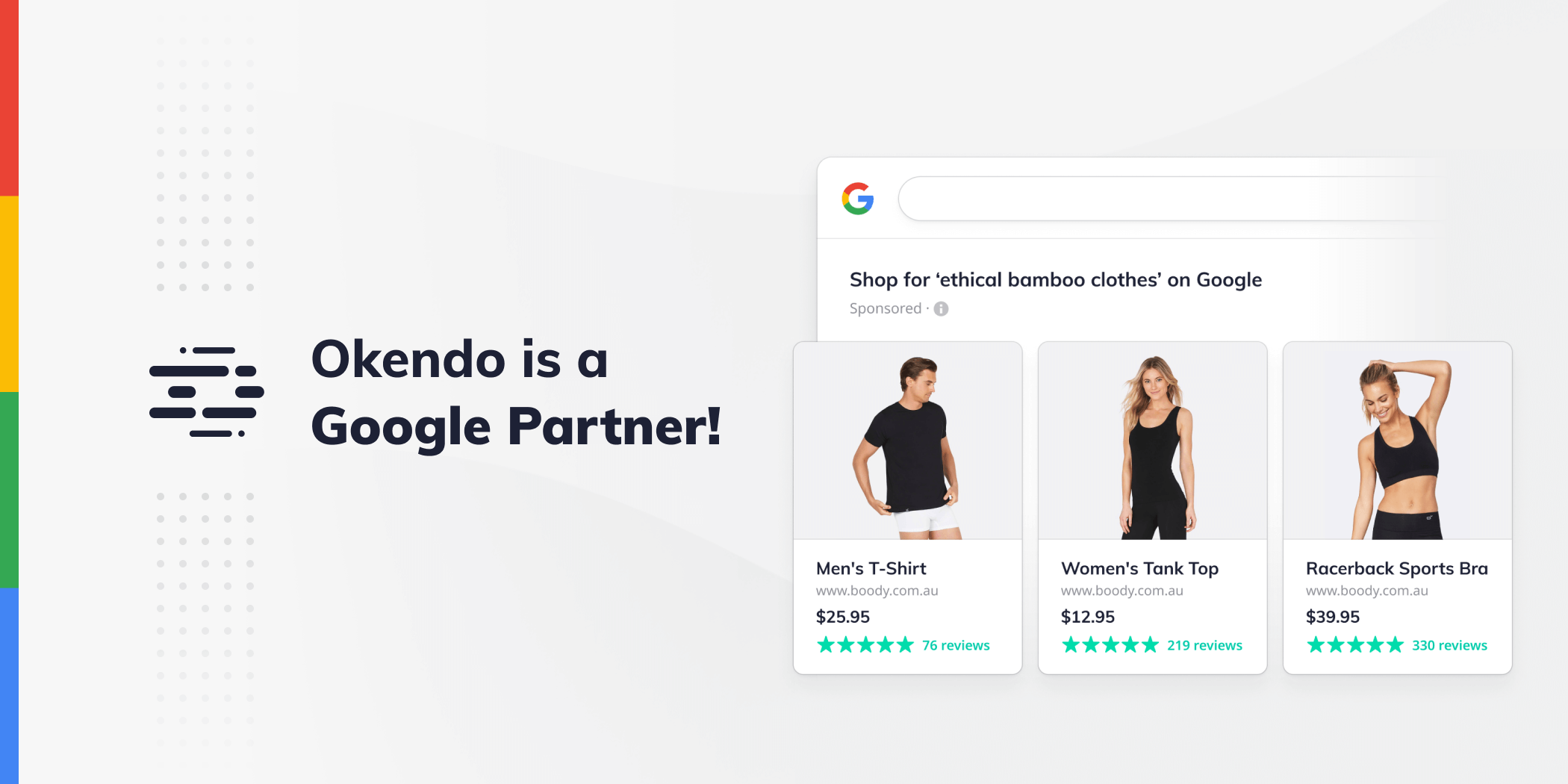 Okendo is now an Official Google Reviews Partner!