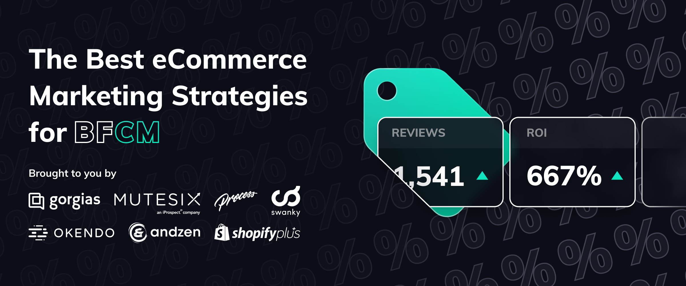The Best eCommerce Marketing Strategies for BFCM from Shopify Experts cover image