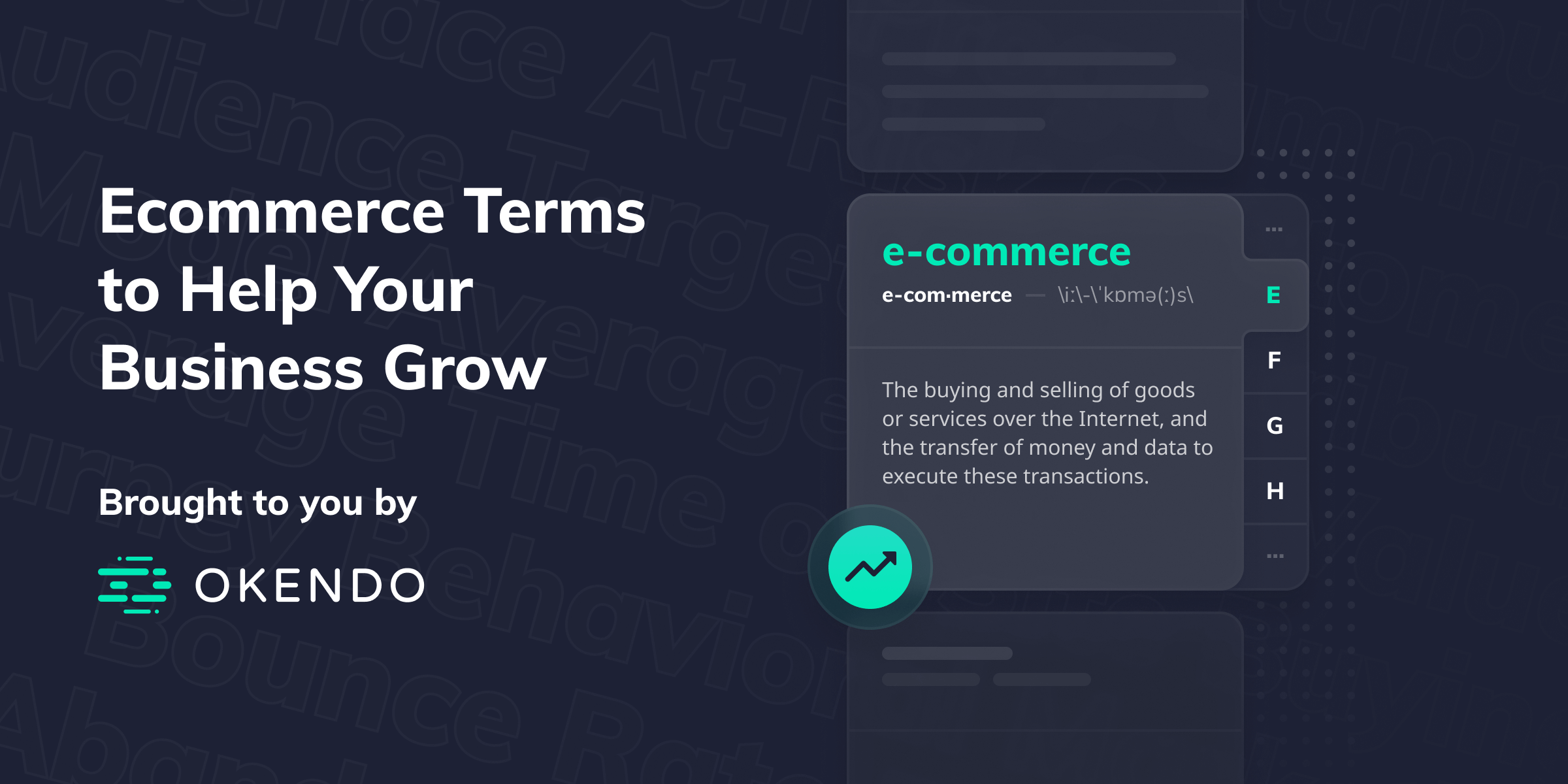 Ecommerce Terms to Help Your Business Grow
