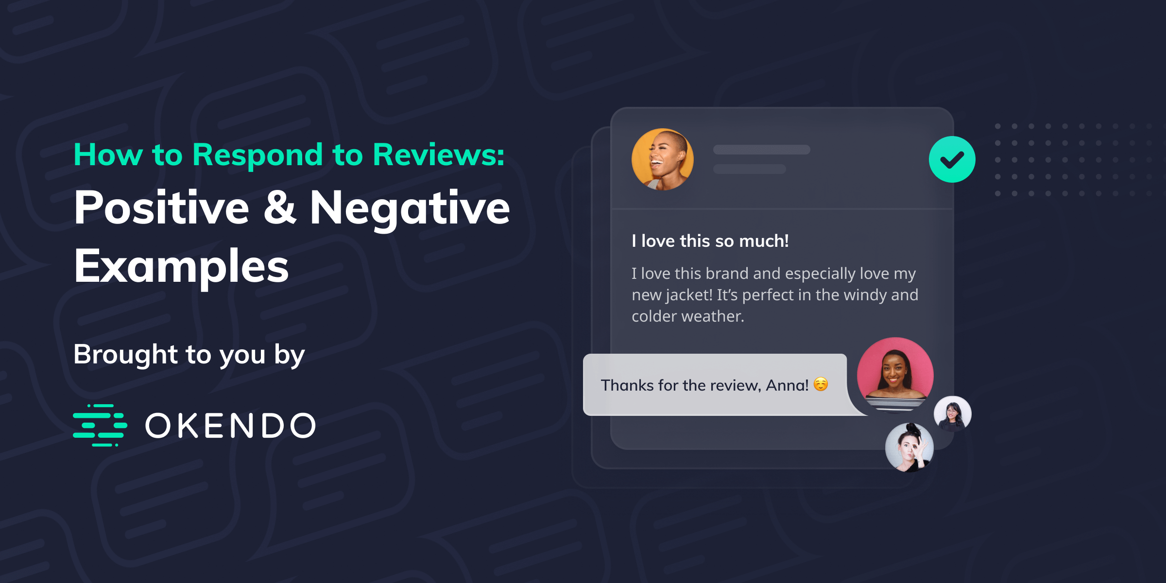 How to Respond to Reviews: Positive & Negative Examples